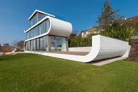 modern home design creates a unique modern home in zurich
