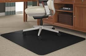 Office Chair Rug Black Chair Mats For Medium Pile Carpets 36