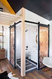 barn door ideas for bathroom barn door in bathroom