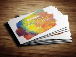 wordings artist painter business cards with oil painter business
