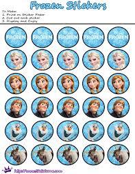 frozen toppers wrappers cupcakes etiquetas gratis