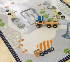 Pottery Barn Rugs Kids Construction Rug Pottery Barn Kids