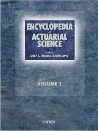 encyclopedia of actuarial science pdf probability density