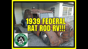Zep Floor Wax On Camper by Look What I Found A 1939 Federal Rat Rod Rv Youtube