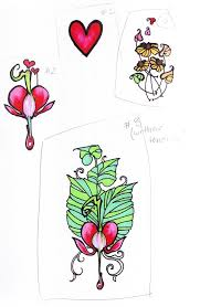 bleeding heart tattoo design by mokonaplushie on deviantart