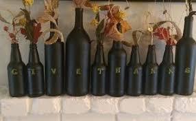 diy thanksgiving wine bottle decor hometalk