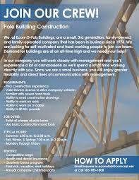 Barn Building Cost Estimator Econ O Fab Pole Buildings Oregon Pole Barn Builder