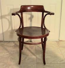 Thonet Vintage Chairs Vintage Bentwood Arm Chair With Gorgeous Pressed Pattern Seat
