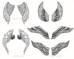 wings set by azzzzya graphicriver