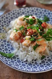cuisine cr le antillaise crevettes pimentées et lait de coco et joli concours ducros