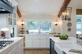 New House Kitchen Designs Fixer Upper Season Four Kicks Off With A Bang Hgtv U0027s Decorating