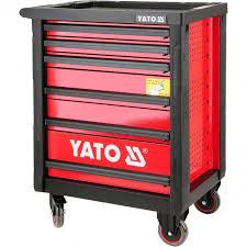 yato service garage tool cabinet 6 drawers cabinets u0026 storage