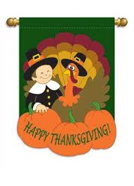 thanksgiving applique garden flag