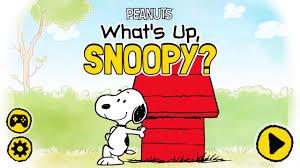 u0027s snoopy peanuts app preview cartoon network