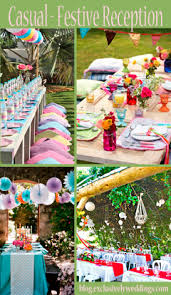 Casual Backyard Wedding Ideas Your Outdoor Wedding Reception U2013 What U0027s Your Style Exclusively