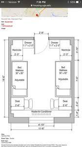 double bedroom floor plan dorm room pinterest double bedroom