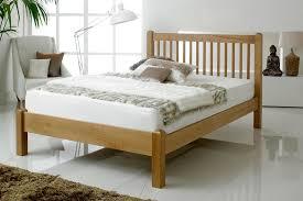 5ft Bed Frame Trafalgar Solid Oak Bed Frame 5ft King Size Solid Oak Beds