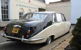 Wedding Cars Ellesmere Port Daimler Ds420 Black U0026 Ivory Vintage Wedding Car Hire
