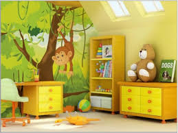 interior jungle theme kids room jungle bedroom decorating ideas