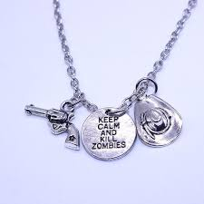 best diamond necklace images Wholesale 2016 best selling movie jewelry gun hat letters keep jpg