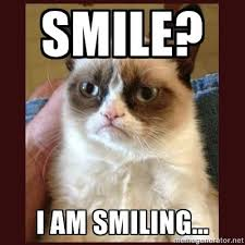 Kitty Meme Generator - smile i am smiling tard the grumpy cat meme generator i