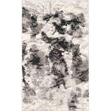 White And Gray Area Rug Safavieh Retro Claude Power Loomed Area Rug Cream Grey Walmart Com