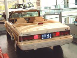 chrysler lebaron lebaron town country convertible