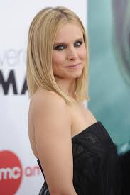 clavicut hairstyles hair envy of the day kristen bell s perfect clavicut celebrity