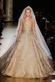 gold wedding dress vintage luxurious wedding dress gold dresscab