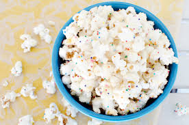 How To Make White Chocolate White Chocolate Confetti Popcorn Recipe A Side Of Sweet