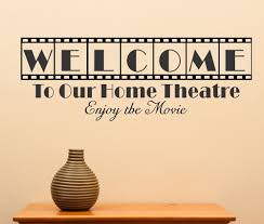 Home Theatre Decorations by Home Theater Wall Decor Find This Pin And More On Wedding