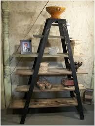 corner ladder shelf white langria 4 tier shelves ladder bookcase