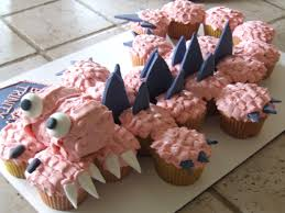 how to make a dinosaur cupcake cake sweet elizabeth