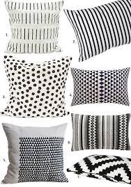 Design Black And White Best 25 Black And White Pillows Ideas On Pinterest White
