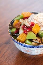zimska voćna salata sa orašastim plodovima recept