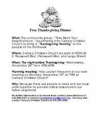 thanksgiving dinner help calvary christian church u2013 philadelphia pa free thanksgiving dinner