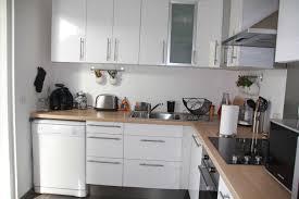 deco cuisine blanc et deco cuisine bois clair cuisine bois et gris