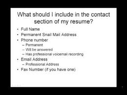 What Should I Name My Resume How To Write A Resume What Should I Include In My Contact