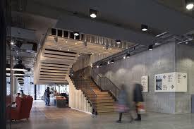 home arts center mecanoo concrete archdaily