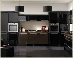 black gloss kitchen ideas kitchen wonderful black gloss kitchen cabinet doors design ideas