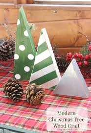 modern christmas tree wood craft i dig pinterest