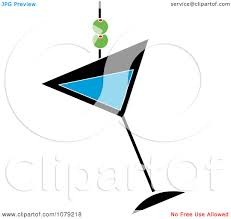 martini cup cartoon royalty free rf clipart of martinis illustrations vector