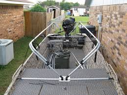 Duck Boat Blinds Plans Scissor Blind Idea