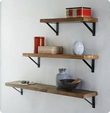 Barn Wood Shelves Rustic Wood Shelves Adjule Rustic Modern Shelving Unit Of