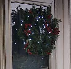 flipo solar powered 24 led winterberry wreath garland