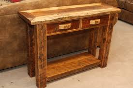 Rustic Side Tables Living Room Rustic End Tables Howtoword Design Ideas