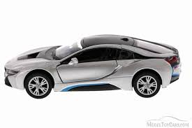 bmw diecast model cars bmw i8 silver kinsmart 5379d 1 36 scale diecast model car