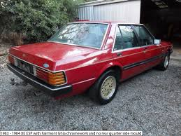 ford fairmont ghia xe esp rear end ford fairmont ghia xe esp