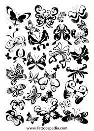 collection of 25 girly butterfly design