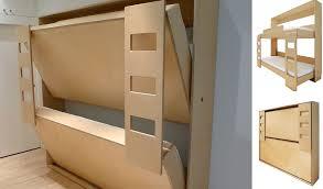 Foldaway Bed Nuovoliola Fold Away Wall Bed Diy Wall Combo Bed - Folding bunk beds